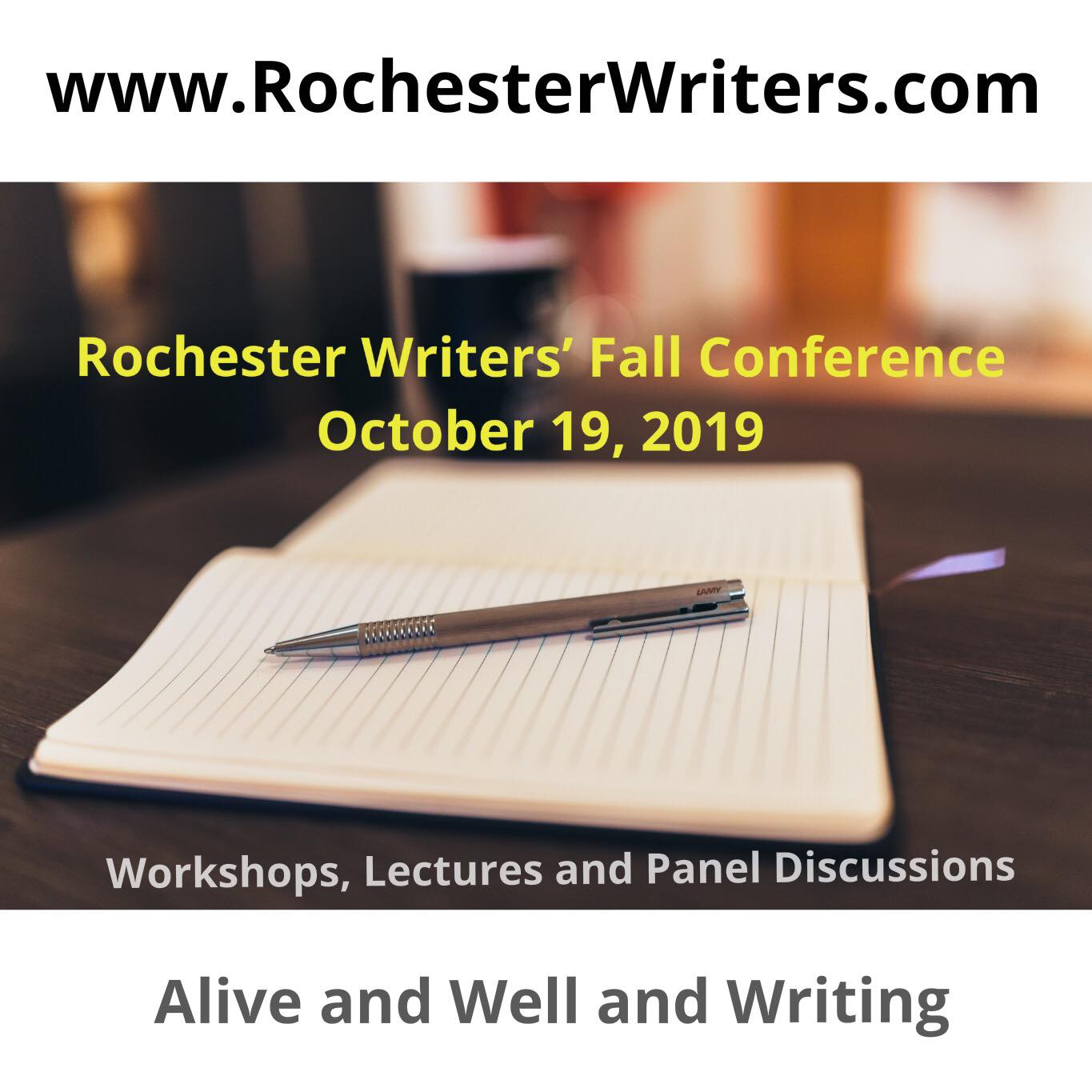 Rochester Writers' Twelfth Annual Fall Conference