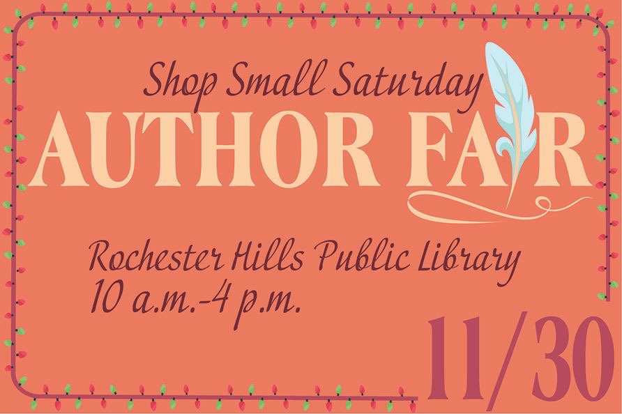 Shop Small Saturday Author's Fair celebrates Michigan Authors