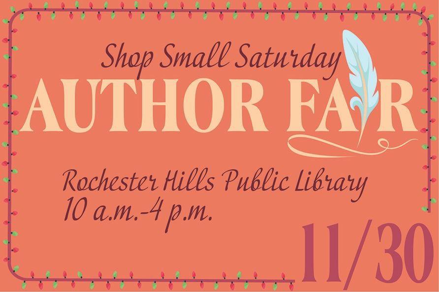 Shop Small Saturday Author's Fair celebrates Michigan Authors